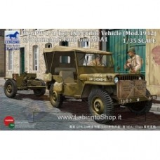 US GPW 1/4 ton 4x4 Utility Vehicle (Mod.1942) w/37mm Anti-Tank Gun M3A1