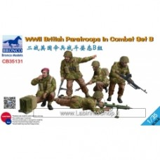 Bronco WWII British Paratroops in Combat set B