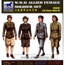 Bronco 1/35 WWII Allied Female Soldier