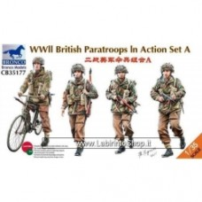 BRONCO CB35177 1/35 WWII British Paratroops In Action Set A