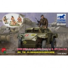 Bronco 1/35 CB35009SP Humber MK.I Scout Car & AFV Crew Set