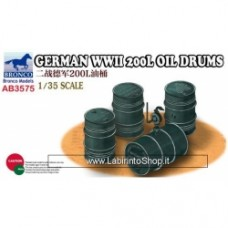 Bronco German WWII 200L Oil Drums