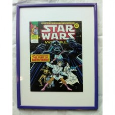 Fumetto Star Wars originale 1978 con cornice 30x40