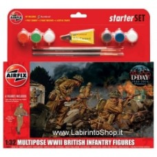 Airfix Wwii british infantry multipose gift set