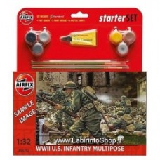 Airfix Wwii American infantry multipose gift set