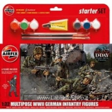 Airfix Wwii german infantry multipose gift set