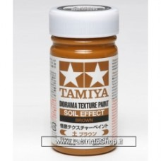 Tamiya 87109 Diorama Texture Paint Soil Effect: terra scura 100ml