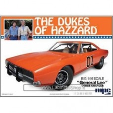 MPC 1969 General Lee Dodge Charger Model Kit 1/16