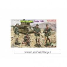 Dragon GERMAN GEBIRGSJÄGER TROOPS - Crete 1941 # 6742