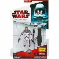 Clone Commander Thire - Star Wars Clone Wars Action Figures Wave 9