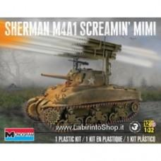 Monogram 1/32 Sherman M4A1 Screamin Mimi