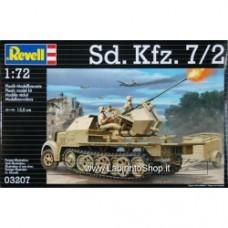 Revell 1/72 Sdkfz 7/2