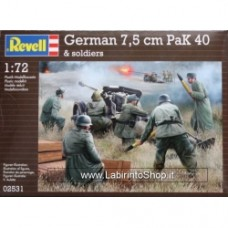 Revell 1/72 German 7,5 cm PaK 40