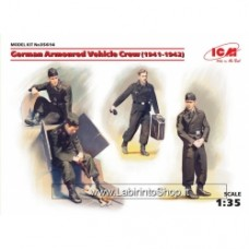 ICM 1/35 WWII German Vehicle Crew