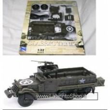 New Ray 1/32nd World War II U.S. Army M3A2 Half Track