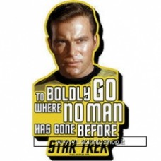 Star Trek Classic TV Star Trek - Enterprise Boldly Go Magnet