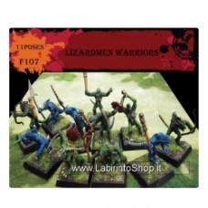 CAESAR MINIATURES - F107 Lizardmen Warriors