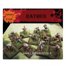 CAESAR MINIATURES - F108 Ratmen Warriors