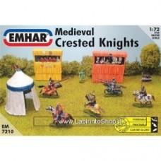Emhar 7210 Medieval Crested Knights