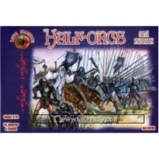 Half-Orcs Set.1 Pikeman