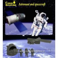 Caesar Astronauts and Spacecraft