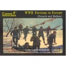 Caesar WWII Partisans in Europe