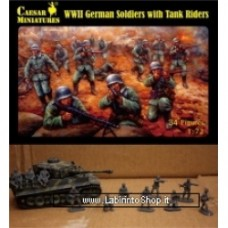 Caesar WWII German Soldiers with Tank Riders