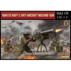 Strelets WWII US Navy & Anti-Aircraft Machinegun