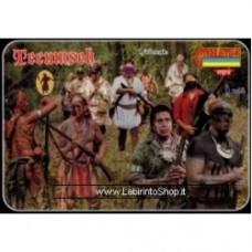 Strelets Tecumseh - Shawnee Indians 1812
