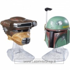 Star Wars Black Series Die-Cast Metal Helmets Princess Leia Boba Fett