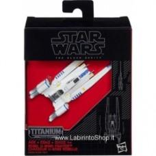 Star Wars: The Force Awakens Black Series Titanium U-Wing Fighter