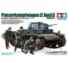 Tamiya Model Kit German 1/35 Panzerkampfwagen II Ausf.C