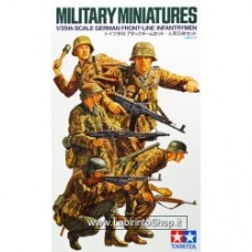 Tamiya 35196 German Front-Line Infantrymen 1/35 scale kit
