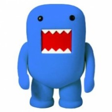 "Dark Horse Domo 4"" Flocked Vinyl Figure: cornflower blue"