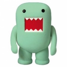 "Dark Horse Domo 4"" Flocked Vinyl Figure: winter green"