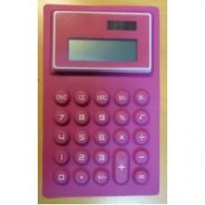 calcolatrice morbida rosa