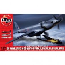 Airfix 1:72 De Havilland Mosquito MkII/VI/XVIII
