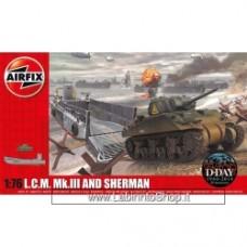 Airfix 1:76 LCM & Sherman