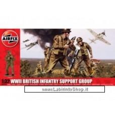 Airfix 1:32 WWII British Infantry Support Set
