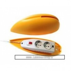 Big Mouse Copriprese Giallo