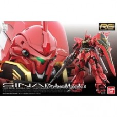 MSN-06S Sinanju (RG) (Gundam Model Kits)