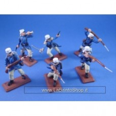Foreign Legion in Blue Uniform, painted 1:32