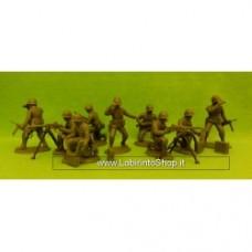 American Machine-Gun Section(Plain Helmets) 1:32