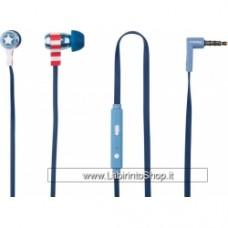 Marvel - Captain America - Swing Auricolari Con Microfono