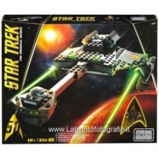 Mega Bloks Star Trek Klingon D-7 Battlecruiser Building Set