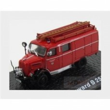 Borgward Lf8 B2500 Truck Fire Engine 1957 Red