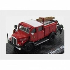 Horch Tlf15 H3A Tanker Truck Fire Engine 1952 Red Black White