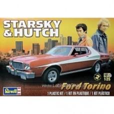 Revell 1/25 Starsky & Hutch Ford Torino Plastic Model Kit