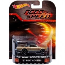 Hot Wheels Need For Speed '67 Pontiac GTO Die-Cast Retro Entertainment Series
