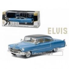 "Elvis Presley 1955 Cadillac Fleetwood Series 60 ""Blue Cadillac"" (1935-1977) 1/43 Diecast Model Car by Greenlight"
